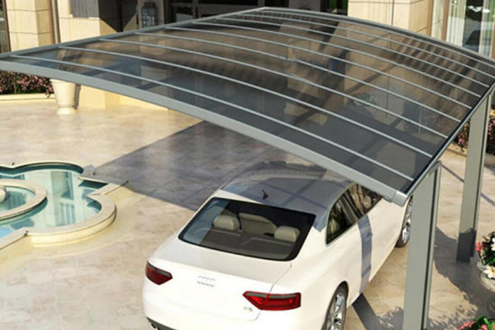 Coberturas em policarbonato para carros, uma ótima opção!